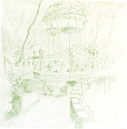 folly in white